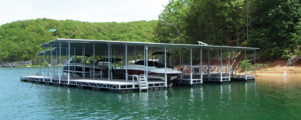 Galvanized Steel Dock Systems