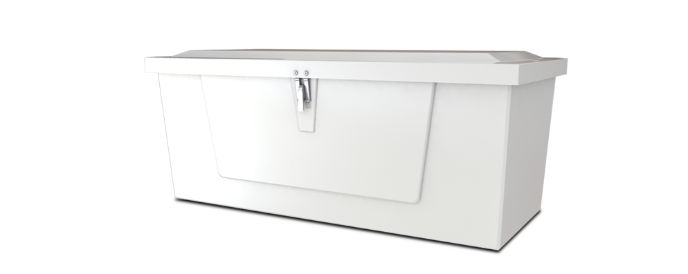 Dock Box Model 418 – 4′ Low Profile