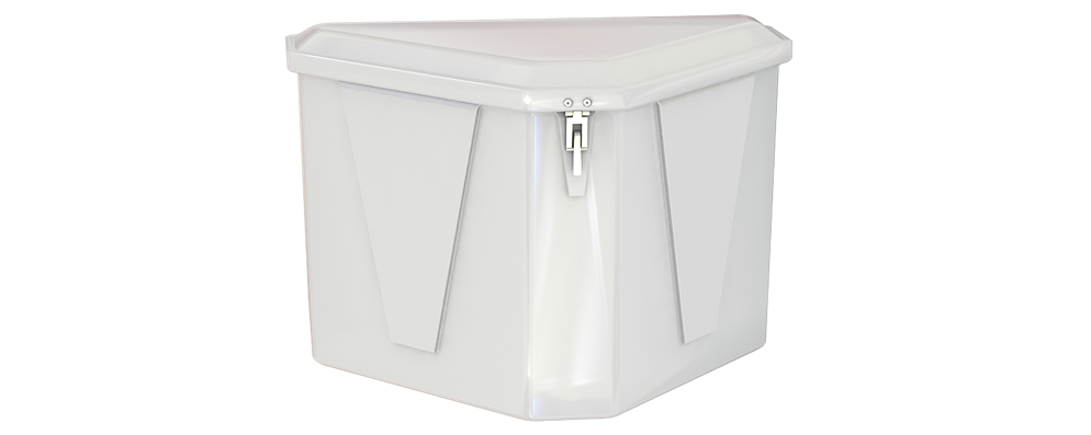 Triangle Dock Box Model 430 – Spacesaver