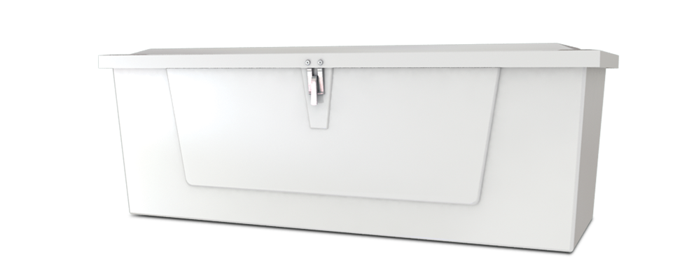 Dock Box Model 518 – 5′ Low Profile