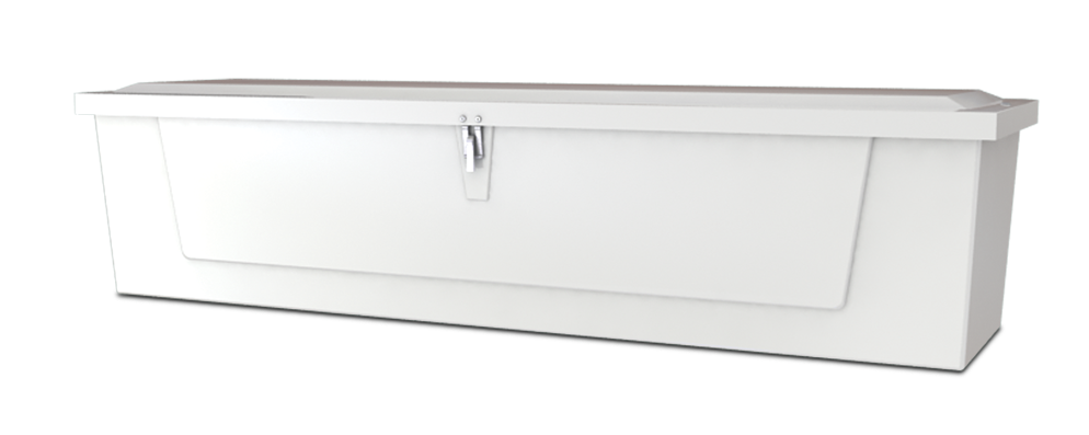 Dock Box Model 718 – 7′ Low Profile
