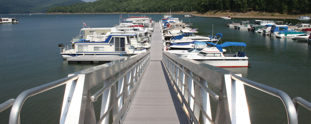 Aluminum Gangway | Dock Boxes Unlimited