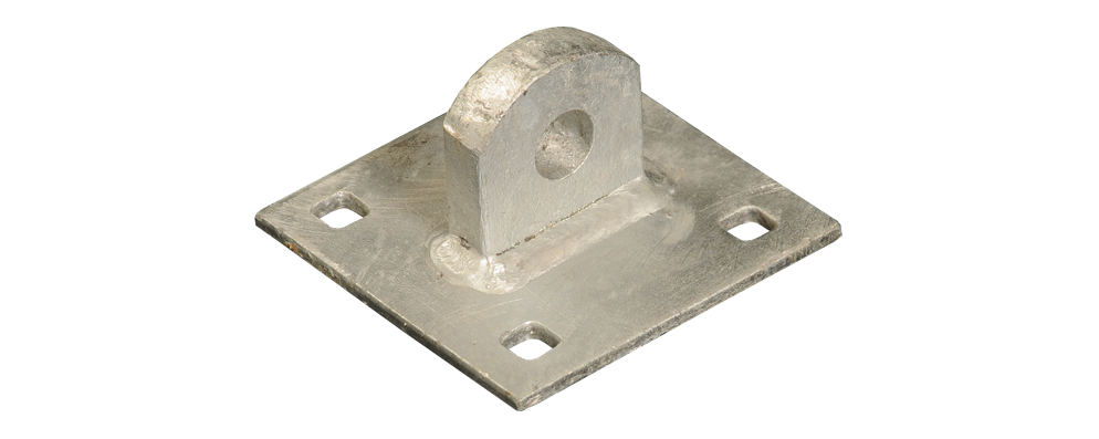 Male Connecting Double Plate