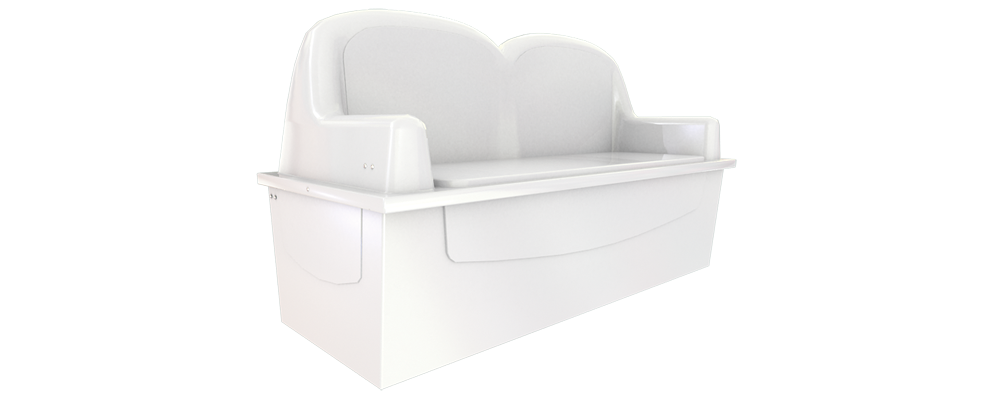Dock Box Model LS1 – Waterside Lounger