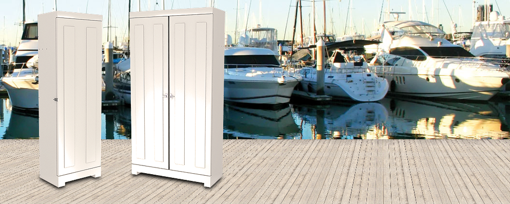Deck Box Selection: Deck Storage Boxes for Docks and Marinas