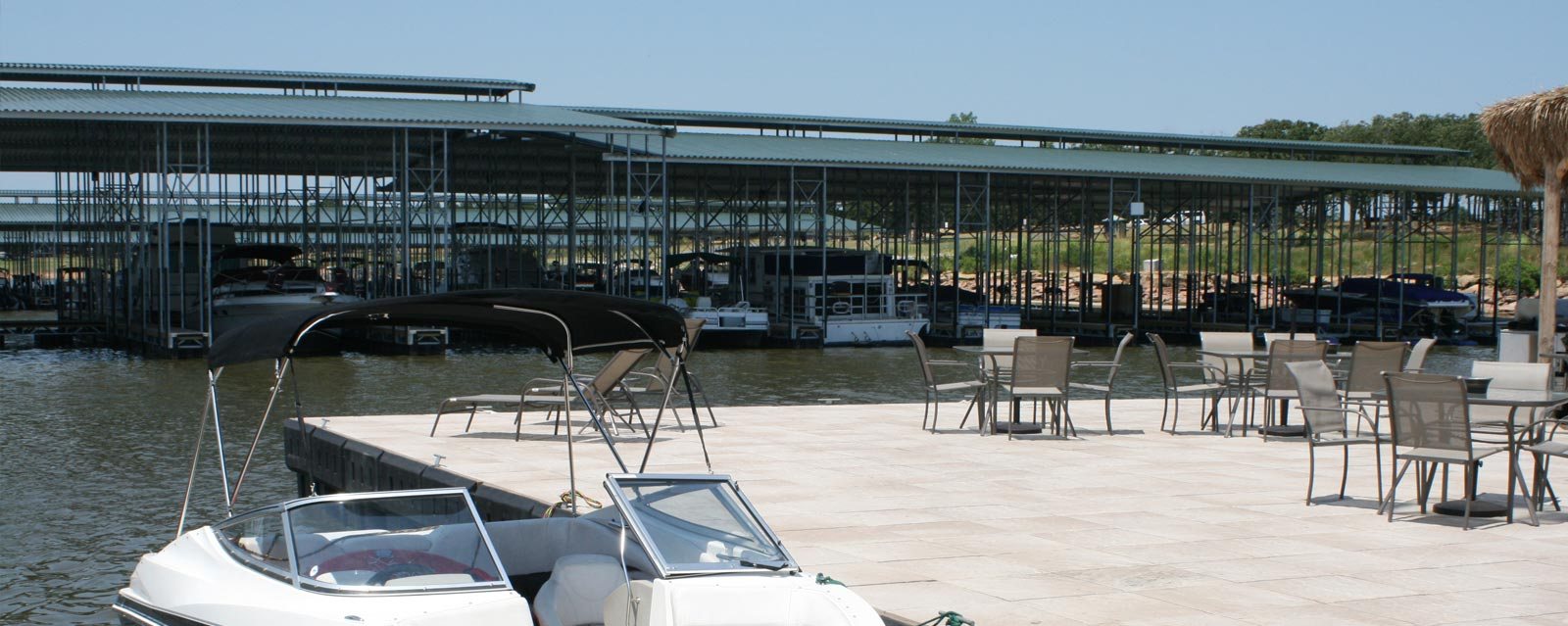 Galvanized Steel Floating Dock System